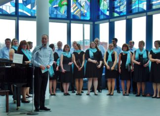 Cantus Vocum at Caribou Memorial Veterans Pavillion