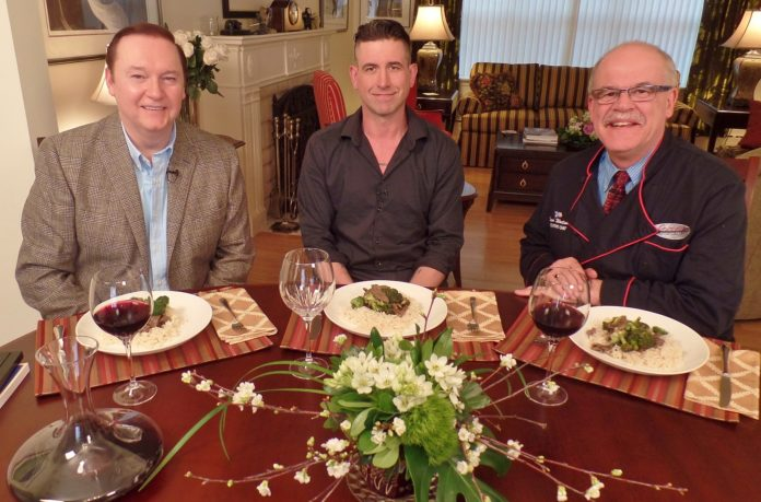 Karl, Terry Ryan and Steve (One Chef One Critic Season 8)