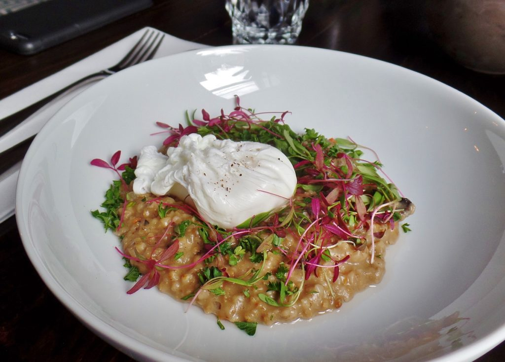 Seto's Steel Cut Oat Risotto