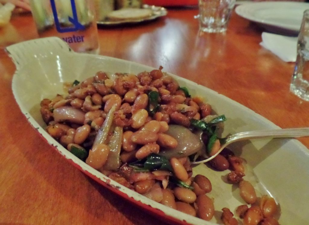 Shaved Duck with Pinto Beans