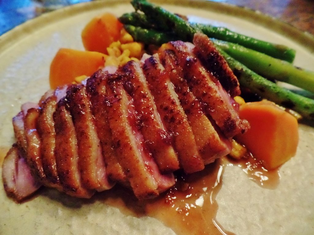 Fifth Ticket pan roasted duck breast
