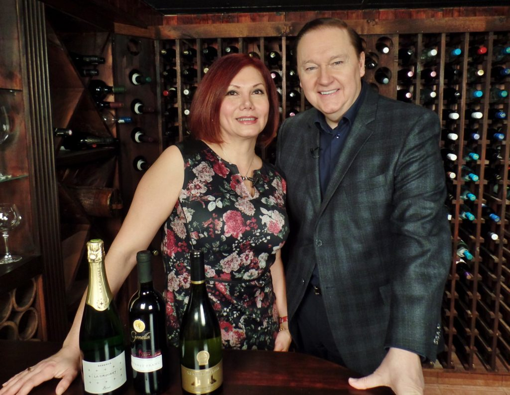 With Jennifer Murray of P&S Fine Wines