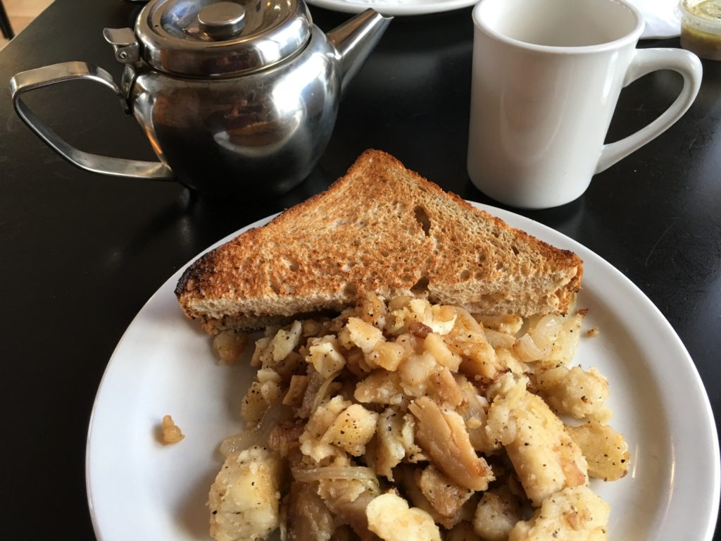 Classic Cafe East Fish and Brewis