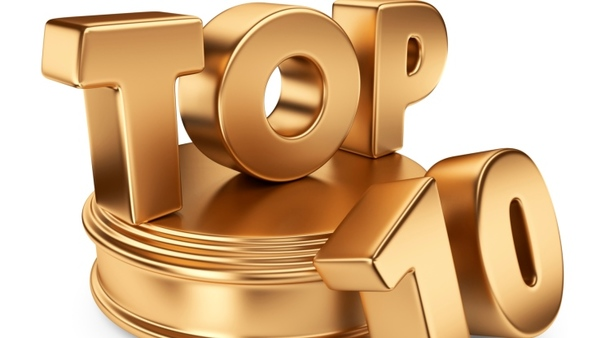 Image result for top 10 list