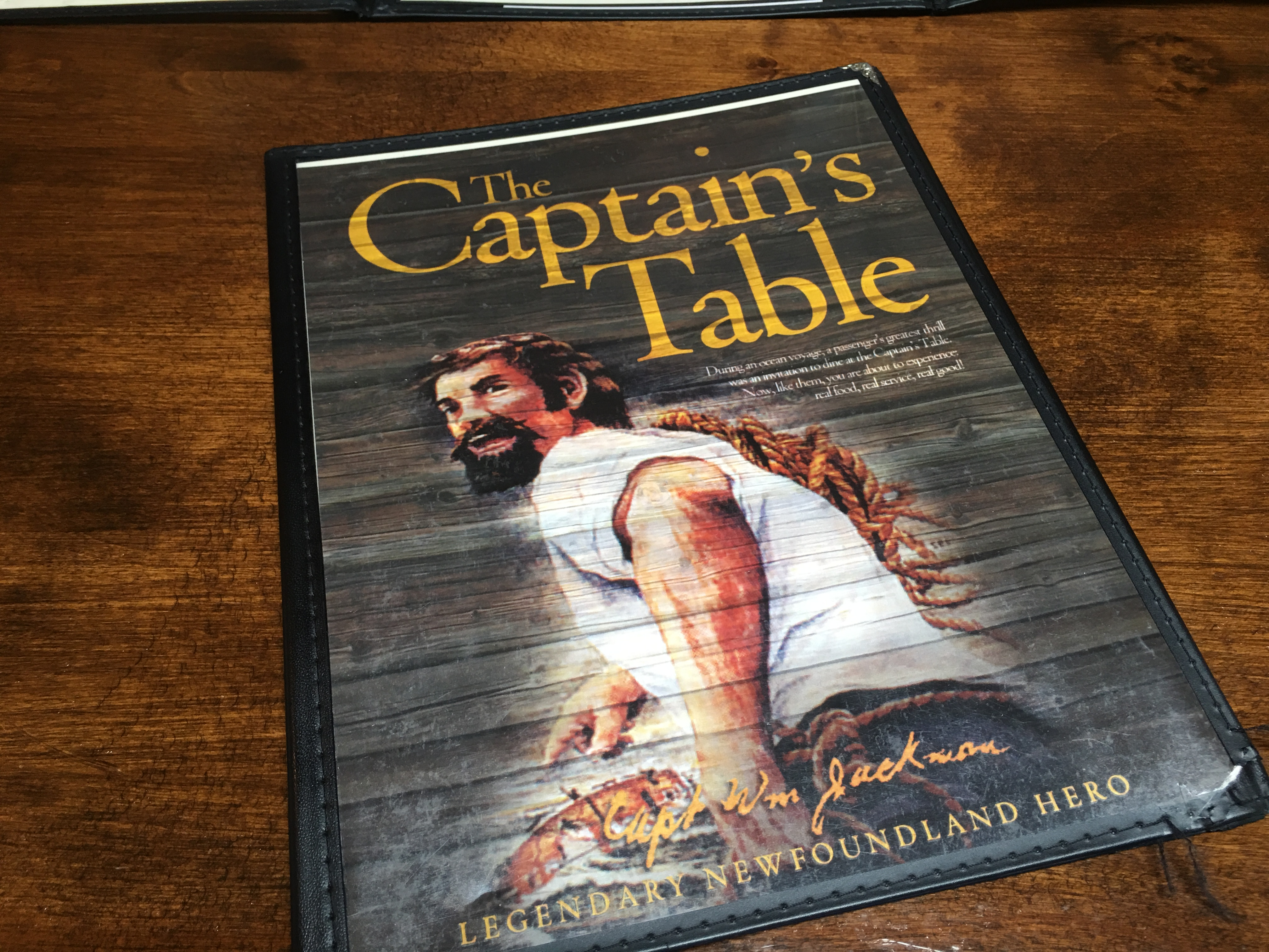 The Captain S Table Review Karl Wells