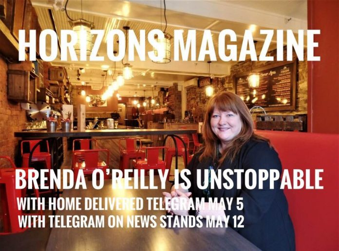 Horizons Magazine: Brenda O'Reilly is Unstoppable